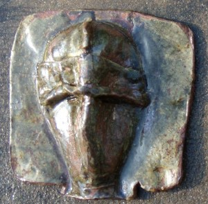 Ceramic Slab Mask by Gillian Hodges 01