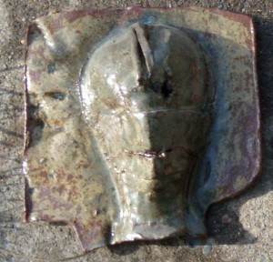 Ceramic Slab Mask by Gillian Hodges 07