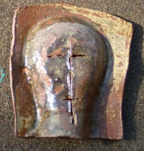 Ceramic Slab Mask by Gillian Hodges 09