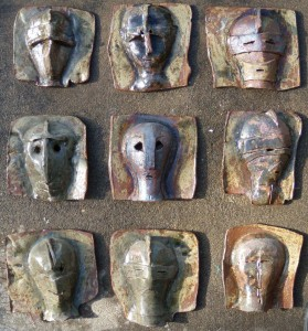 Nine Masks by Gillian Hodges