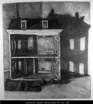 020 Doll House Number 3 with Shadow