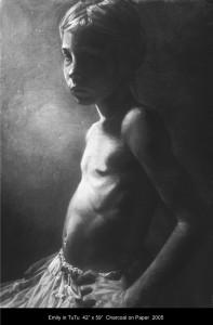 Emily in Tutu by Annie Murphy-Robinson 2005.