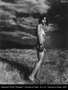 """Sasquatch Series """"Dordogne"""" by Annie Murphy-Robinson"""