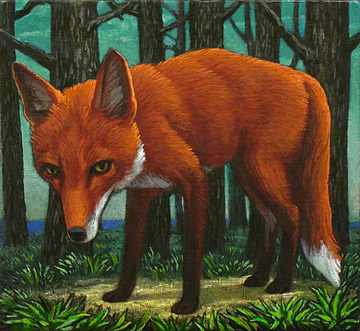 Fox by John Tarahteeff