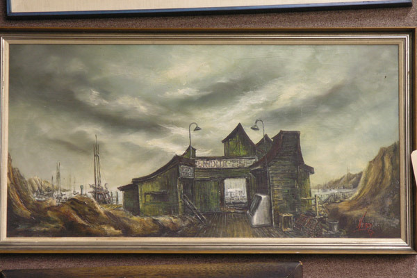 Fishermans Shack by Victor Heady