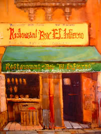 Restaurant Ray El Infierno by Victor Heady