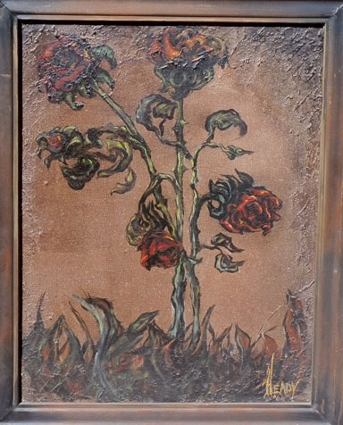 Roses by Victor Heady