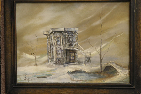 Victorian in Winter by Victor Heady