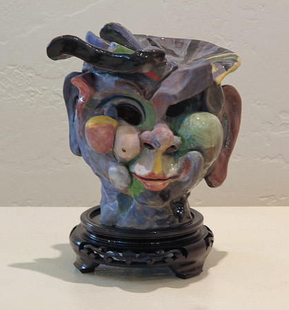 Ceramic Head by Jeff Nebeker