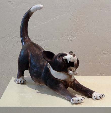 Untitled dog sculpture by Joe Mariscal