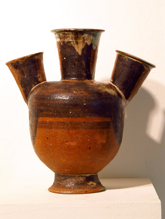 3-necked vase by Marguerite Wildenhain